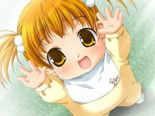 Manga une petite fille - Fille de manga ...